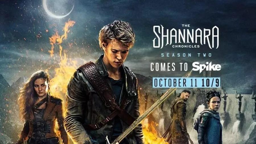 The Shannara Chronicles (Seconda Stagione banner)