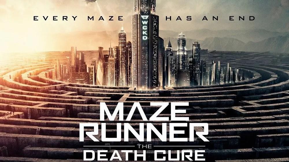 maze runner 3 banner