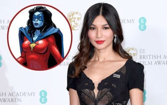 captain marvel gemma chan