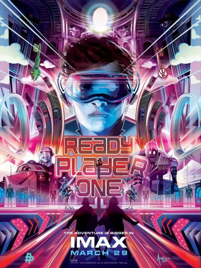 Ready Player One (poster IMAX)