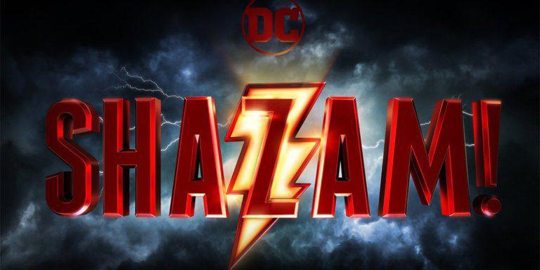 Shazam: ecco il logo ufficiale del cinecomic DC con Zachary Levi