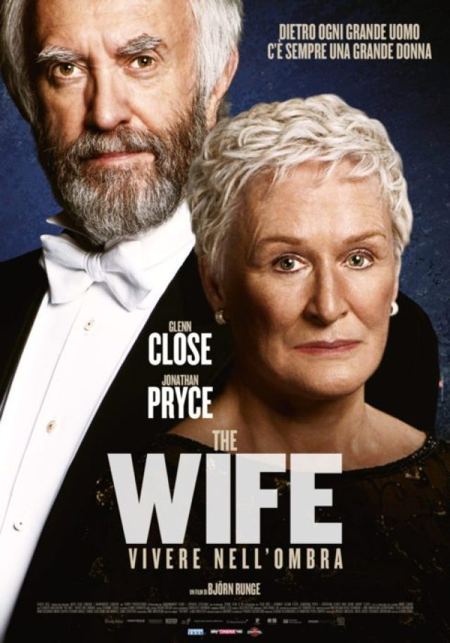 Trailer e poster di The Wife - Vivere nell'ombra, il film con Glenn Close