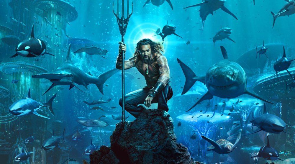 Creature marine nella nuova foto di Aquaman