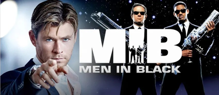 Un primo sguardo a Chris Hemsworth e Tessa Thompson come nuovi Men in Black