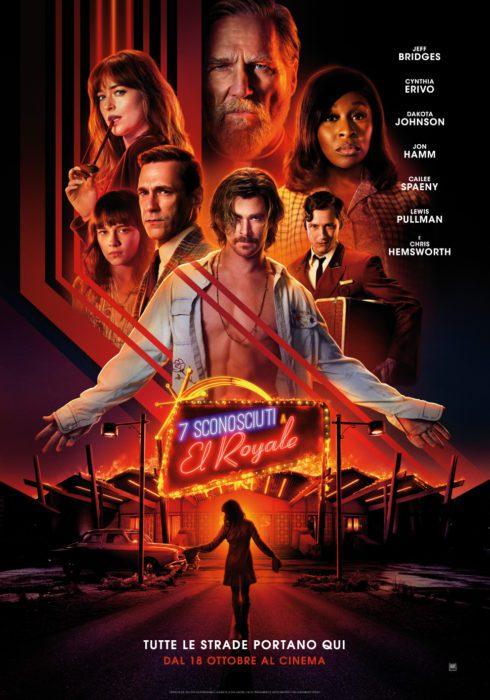 7 Sconosciuti al El Royale Poster