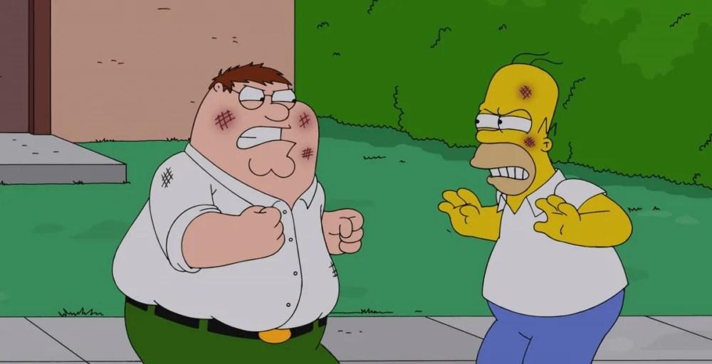 La Fox starebbe sviluppando un film sui Simpson e sui Griffin