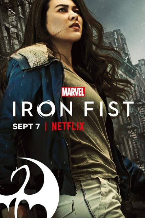 IRON FIST 2 POSTER COLLEEN WING