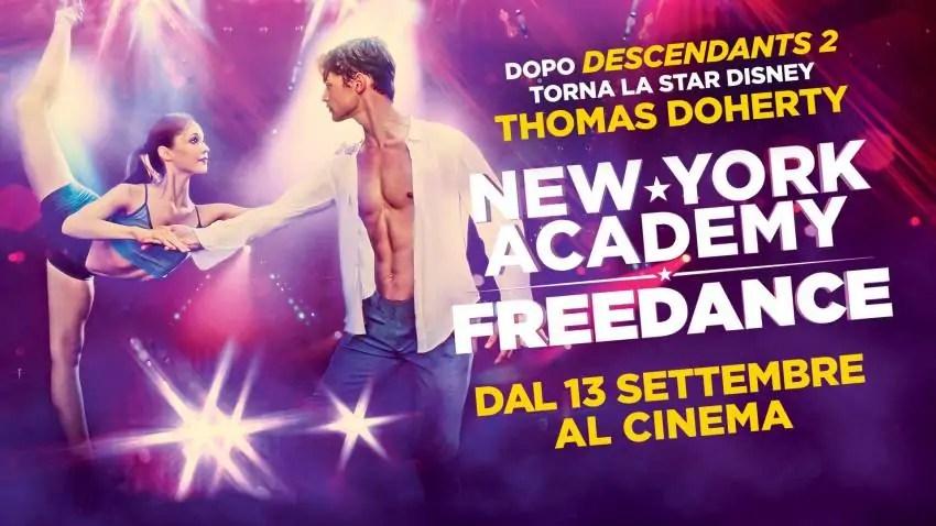 New York Academy Freedance, la recensione del film con Thomas Doherty