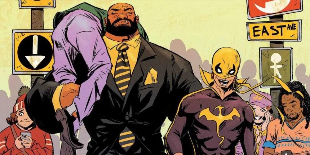 Netflix potrebbe sviluppare una serie crossover tra Luke Cage e Iron Fist