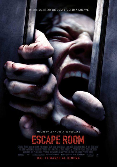 escape room poster ita
