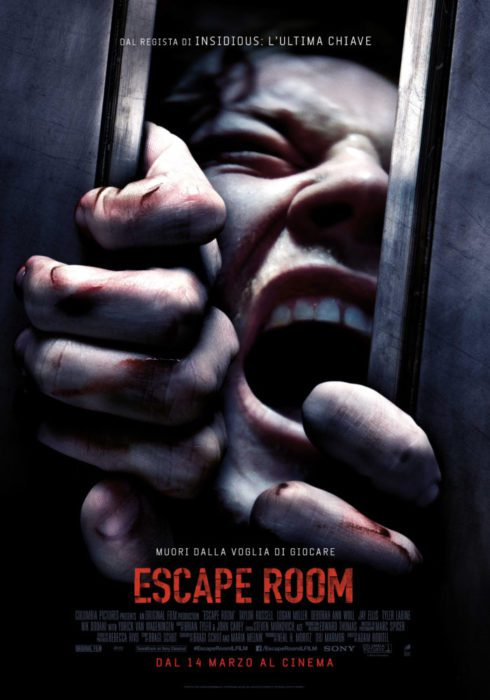 escape room poster ita