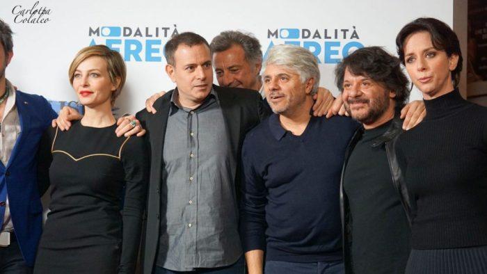 Modalità Aereo di Fausto Brizzi, recensione e conferenza stampa
