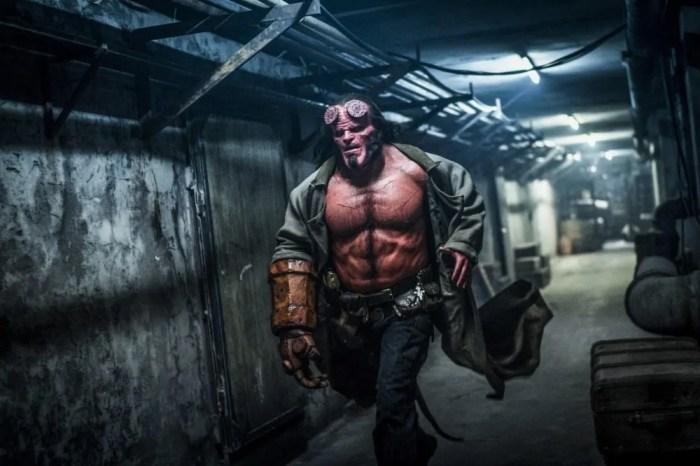 Hellboy - Poster italiano e 4 foto ufficiali