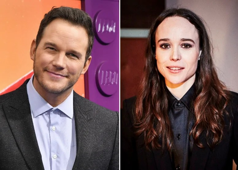 chris pratt ellen page