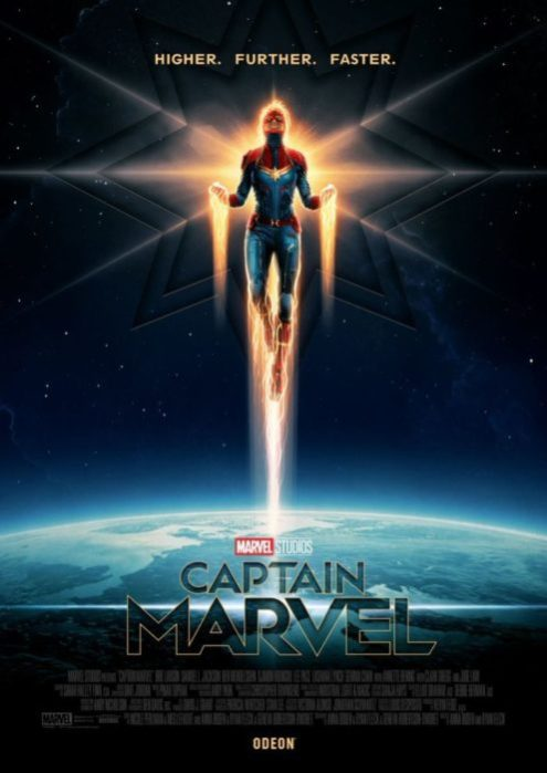 captain marvel poster odeon