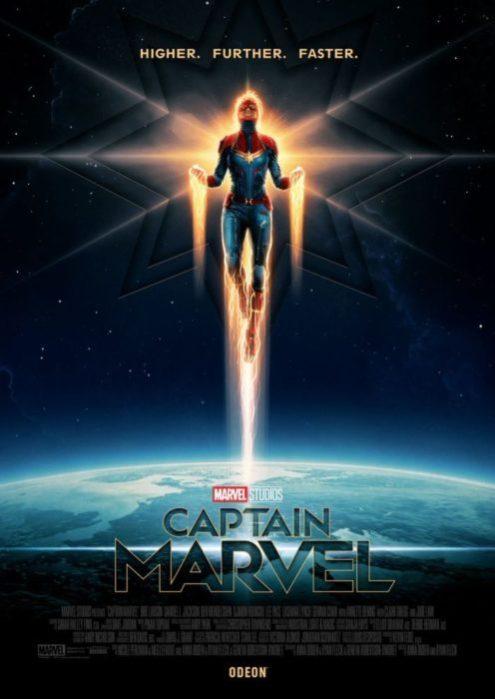 captain marvel poster odeon