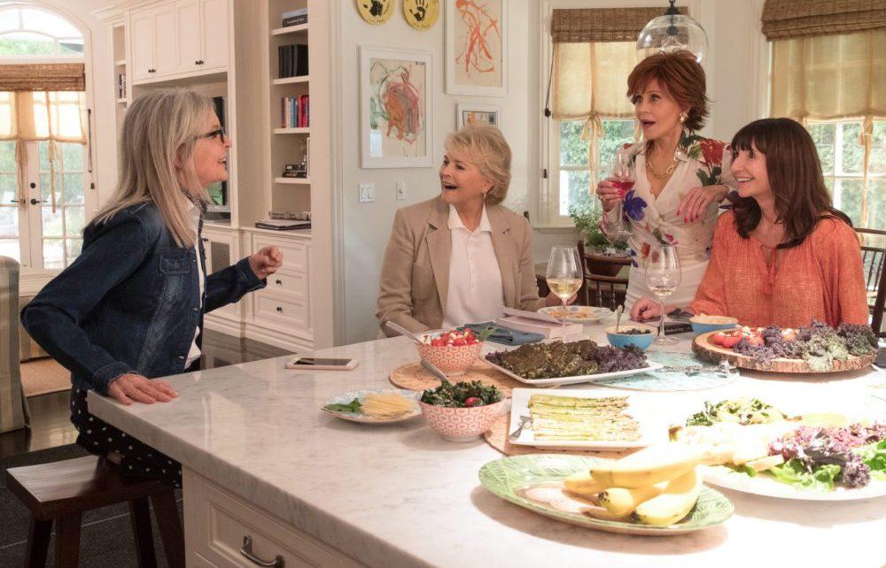 Jane Fonda e Diane Keaton nel trailer di Book Club - Tutto può succedere