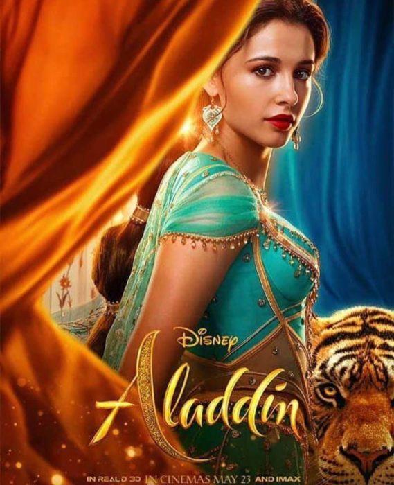 I primi characters poster dedicati ai personaggi di Aladdin