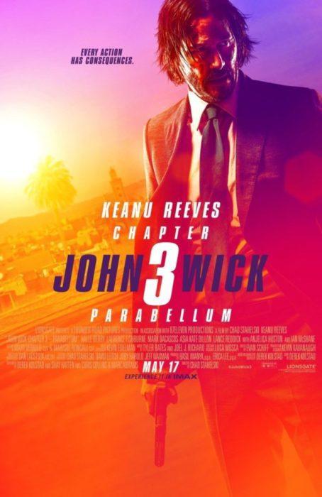 John Wick Parabellum poster