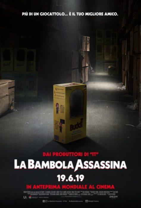 la bambola assassina poster