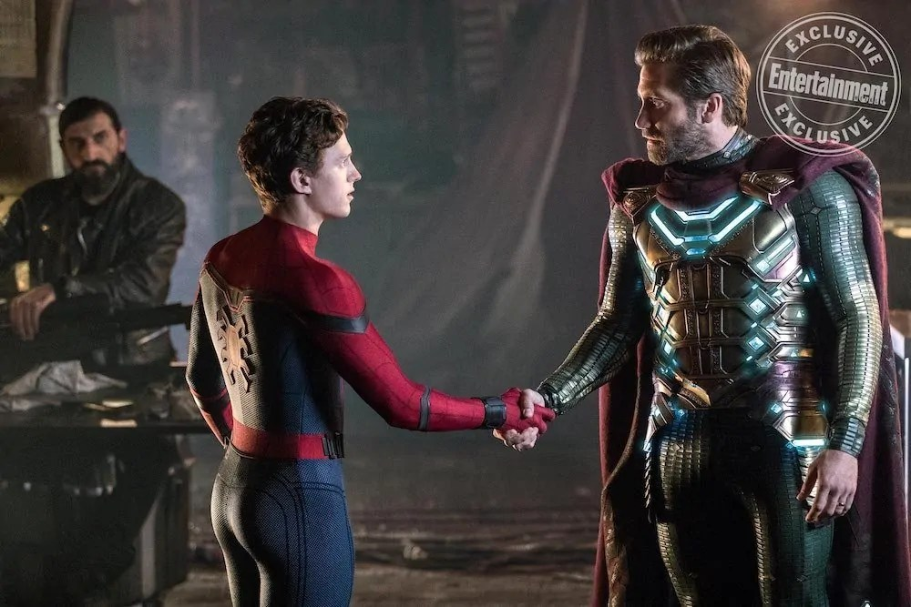 Spidey con Mysterio nelle nuove foto di Spider-Man: Far From Home
