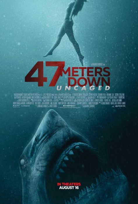Un'occhiata al claustrofobico teaser trailer di 47 Meters Down: Uncaged
