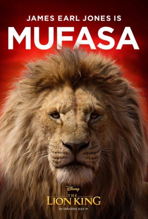 Tutti gli animali protagonisti di Il Re Leone nei characters poster
