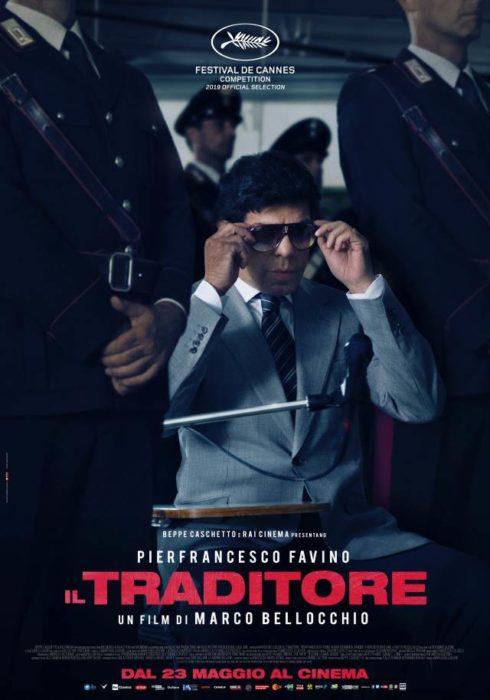 Cannes 72 - Il poster de Il Traditore, il film di Marco Bellocchio
