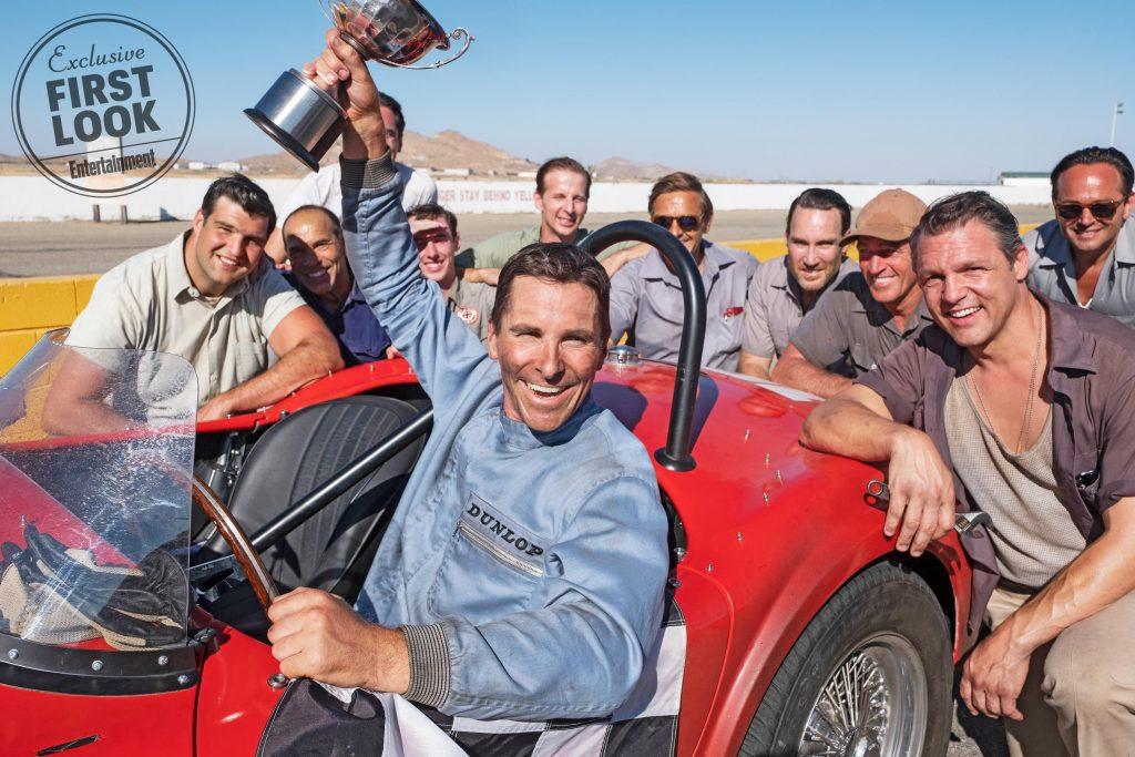 Matt Damon e Christian Bale nelle immagini ufficiali di Ford v. Ferrari