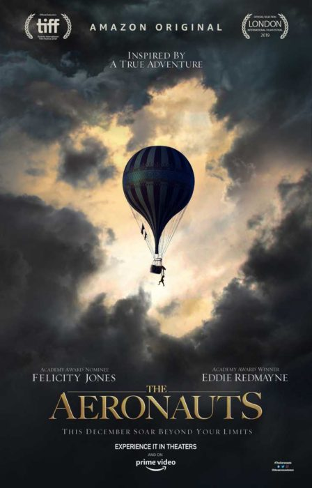 The Aeronauts Film Amazon Poster