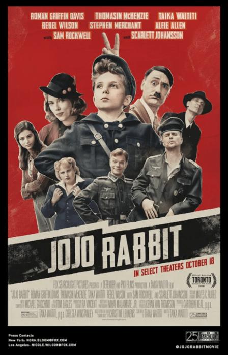 Jojo Rabbit film poster