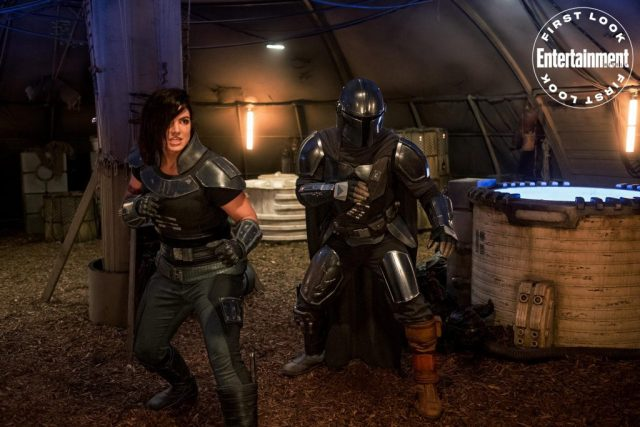 The Mandalorian Serie tv Gina Carano