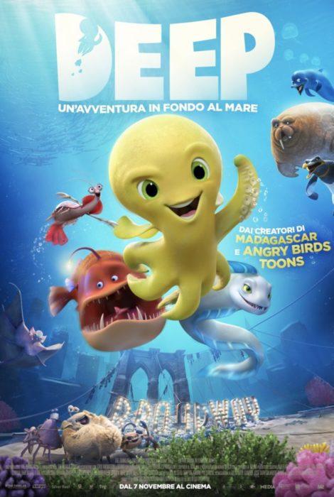 Il trailer di Deep - Un'avventura in fondo al mare, di Julio Soto Gurpide