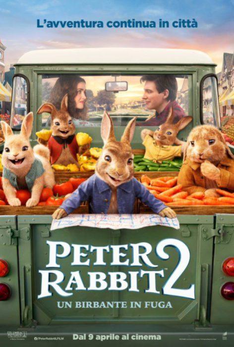 Poster e trailer italiano da Peter Rabbit 2: Un birbante in fuga