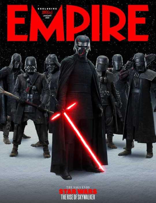 Star Wars: L'ascesa di Skywalker - Pioggia di cover da Empire Magazine