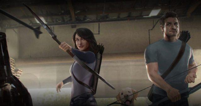 Un primo sguardo ai look dei protagonisti della serie tv Hawkeye