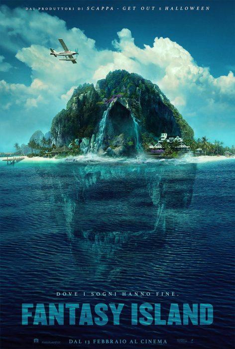 Fantasy Island Horror Poster Ita