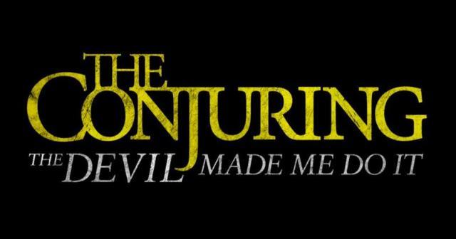 The Conjuring 3 logo-titolo