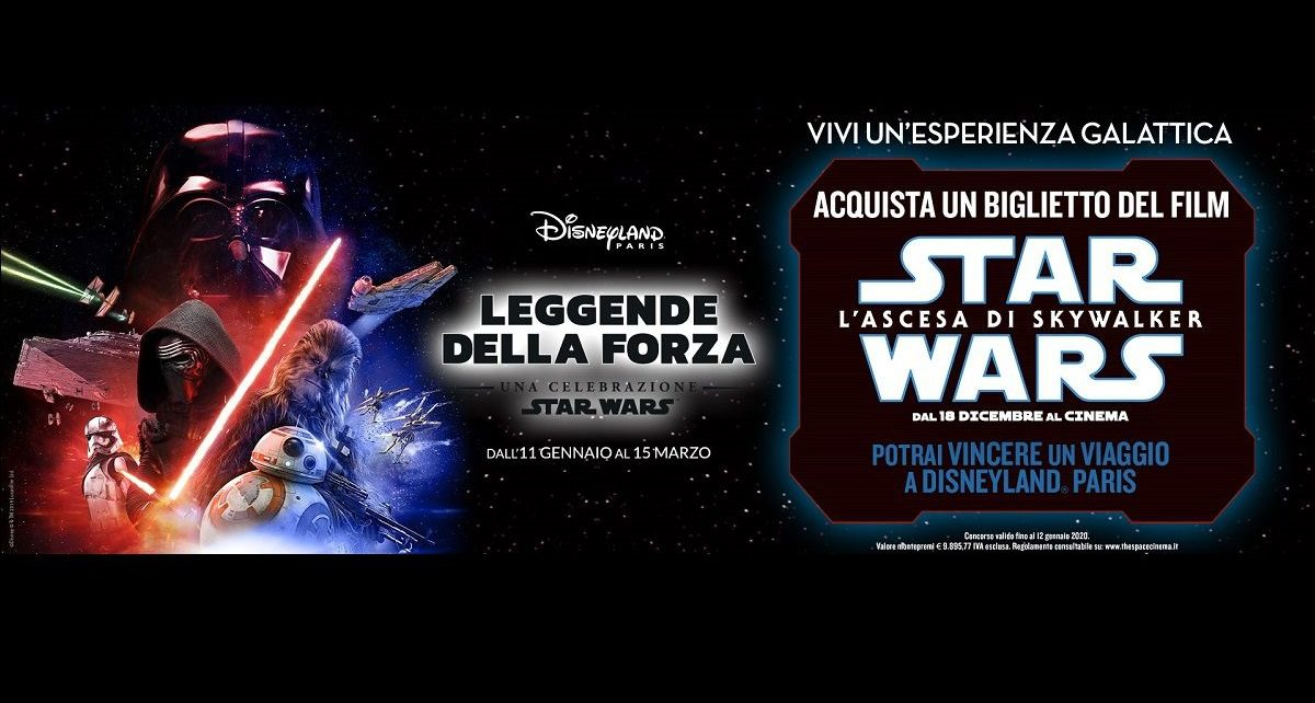 Star Wars L'ascesa di Skywalker The Space Cinema