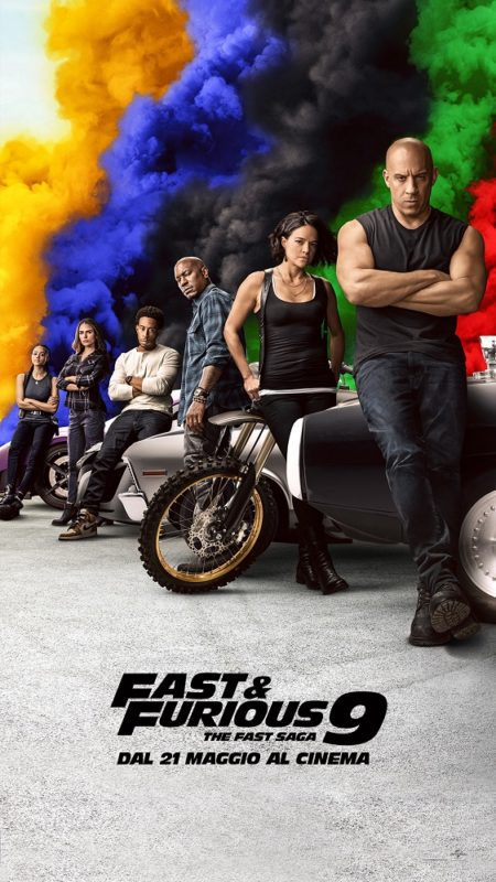 Fast and Furious 9 - The Fast Saga Poster Italiano