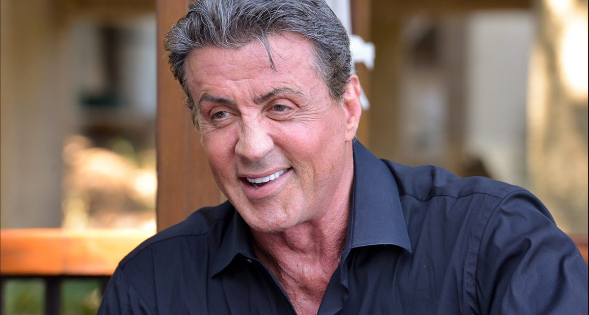 Sylvester Stallone Look