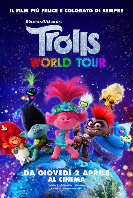 Trolls World Tour Poster ita