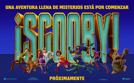Poster e banner dal nuovo cartoon Scooby!
