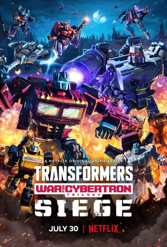 Transformers - War for Cybertron poster