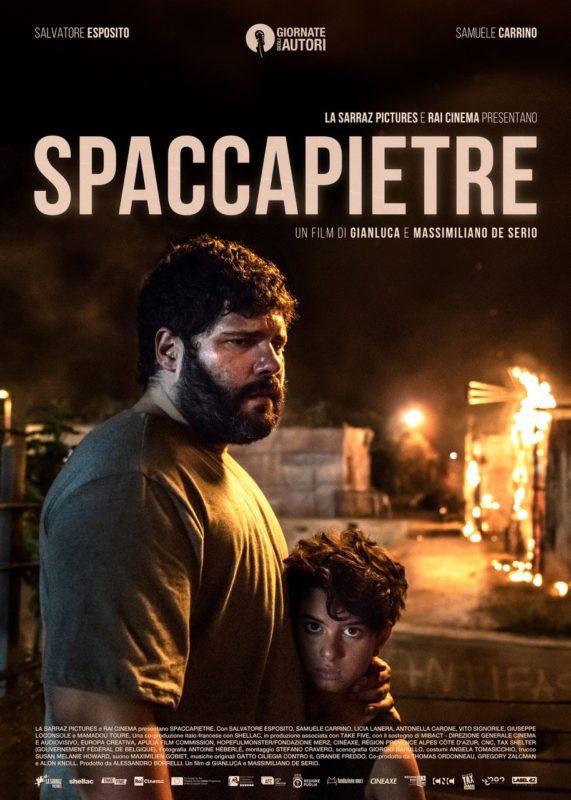 Spaccapietre: Il poster del film con Salvatore Esposito