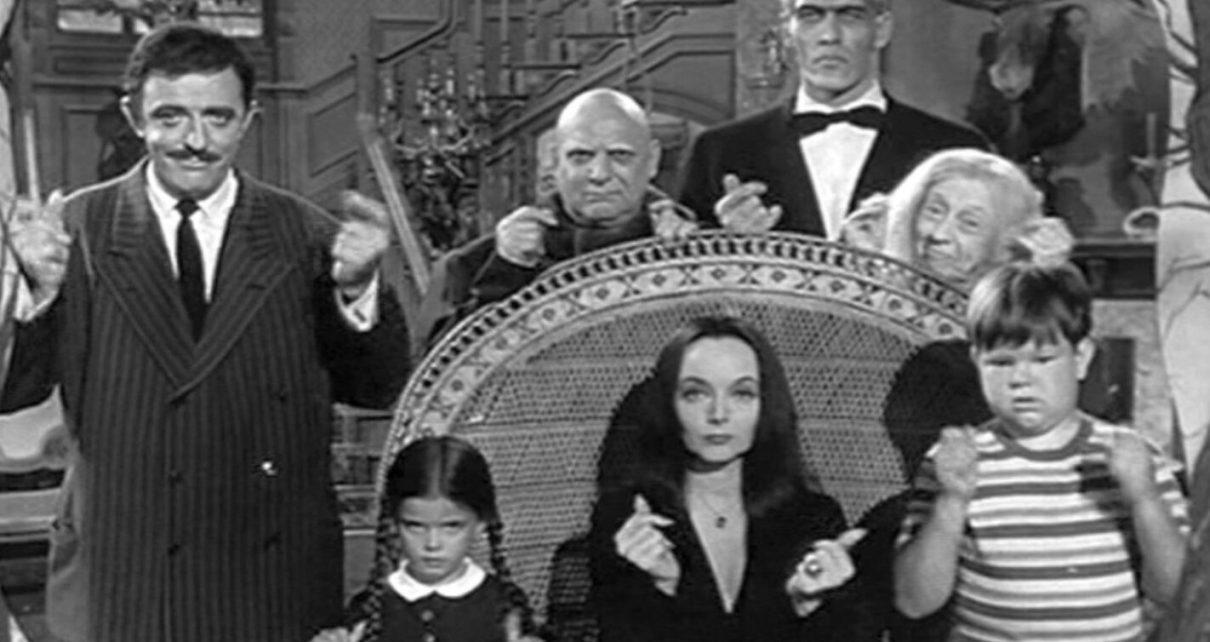 La Famiglia Addams - Serie tv Tim Burton