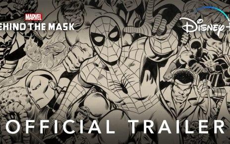 Behind the Mask Marvel trailer