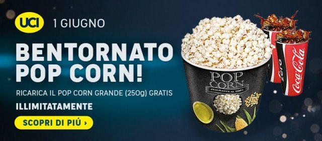 uci cinemas - bentornato pop corn