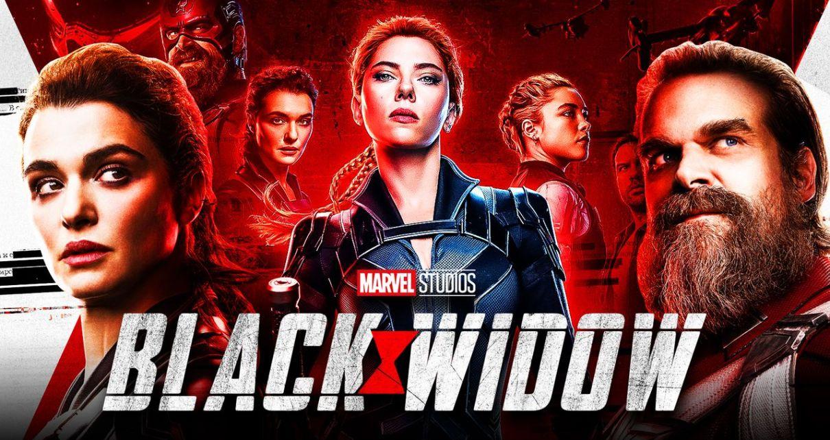 black widow film clip