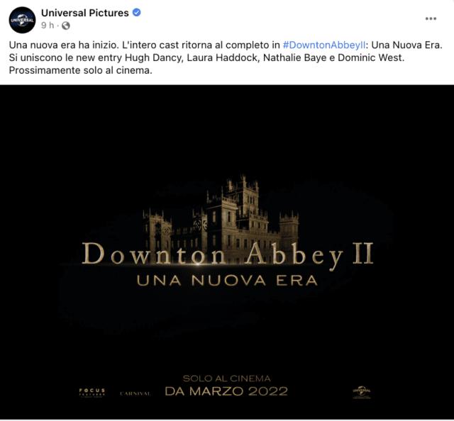 Downton Abbey 2: svelato il titolo del sequel